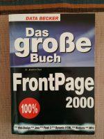 internetFunke Buch - Das große Buch Frontpage 2000