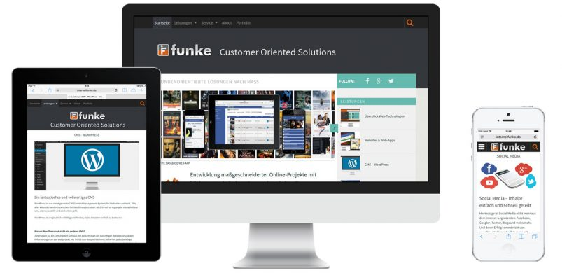 internetFunke Responsive Design