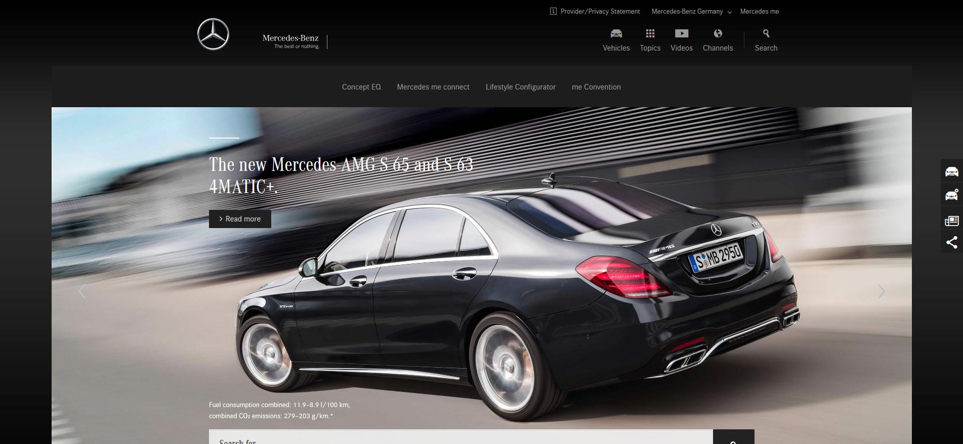 Mercedes benz international news internetfunke for International mercedes benz